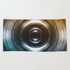 From Day to Night Beach Towel