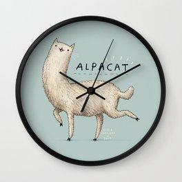 Alpacat Wall Clock