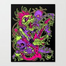 Zombies Rock! Canvas Print