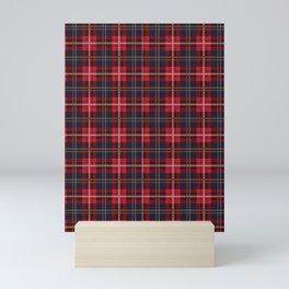 Scottish Royal Modern Tartan Mini Art Print
