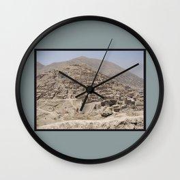 Hill in Kabul Wall Clock