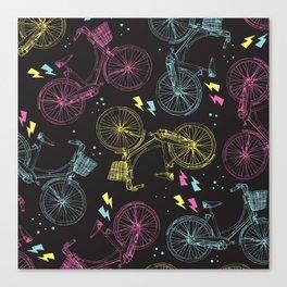 galactic bikes Canvas Print