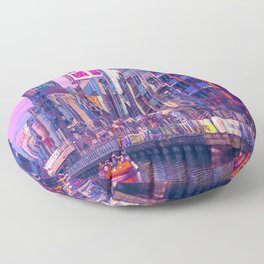 Osaka Citypop Floor Pillow