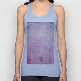 abstract vintage wall texture - pink retro style background Unisex Tank Top