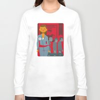 1984 Long Sleeve T-shirts featuring 1984 by Cristian Barbeito