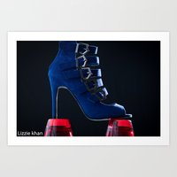heels Art Prints featuring heels by lizziekhan