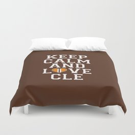LOVE CLE BROWNS Duvet Cover