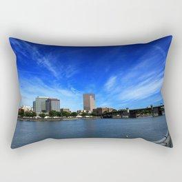 Portland Waterfront Rectangular Pillow