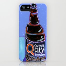 Queen City - Yorkshire Porter iPhone Case