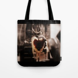 A Man's Heart : Chevy Camaro Engine Tote Bag