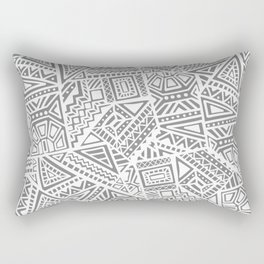 Tribal Textiles Rectangular Pillow