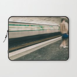 Late for the Train Laptop Sleeve