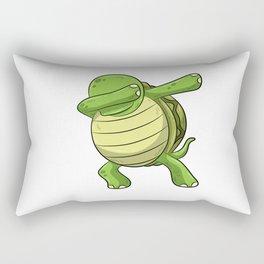 Dabbing Turtle Shirt Turtles Tortoise Dab Kids Rectangular Pillow