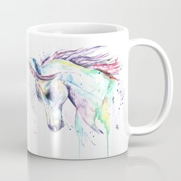 Colorful Unicorn Watercolor Painting - Kenzie's Unicorn Coffee Mug