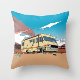 Crystal Ship Throw Pillow