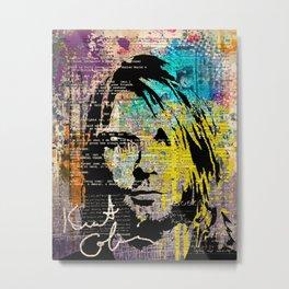 Nirvana art on dictionary Metal Print