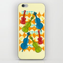 Sunny Grappelli String Jazz Trio Composition iPhone Skin