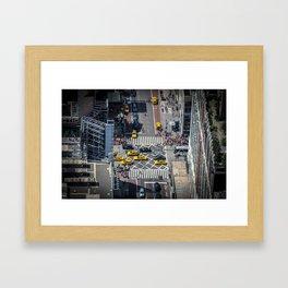 Tiny City Framed Art Print