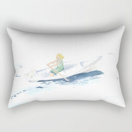 You Belong in a Boat Out at Sea Rectangular Pillow