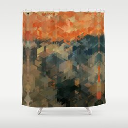 Panelscape Iconic - The Scream Shower Curtain