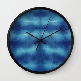 Tsuna Shibori Wall Clock