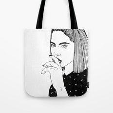 Inktober 01_2016 Tote Bag