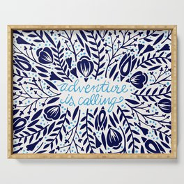 Adventure is Calling – Porcelain Palette Serving Tray