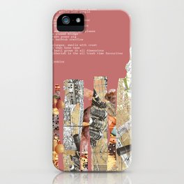Jx3 Poem - 4 iPhone Case