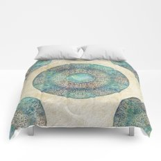 Moon Mandala Comforters