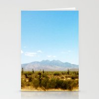 southwest Stationery Cards featuring Painterly Southwest by Mister Groom