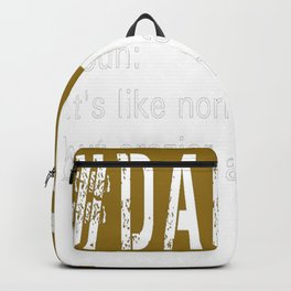 # DadLife Dad Life Definition Backpack