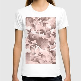 Watercolor Autumn Leaves 8 T-shirt