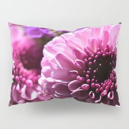 Pinky Purple Bouquet of Flowers by Reay of Light Photography Pillow Sham