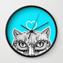 Cat B Wall Clock