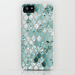 Mermaid Glitter Scales #3 #shiny #decor #art #society6 iPhone Case