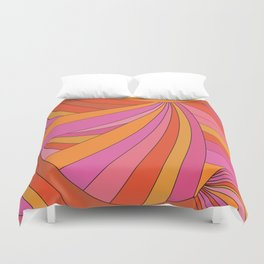 60s Swirls Duvet Cover