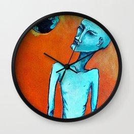 Planetary Scope Wall Clock