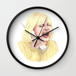 Drew Barrymore, Scream - Casey Wall Clock