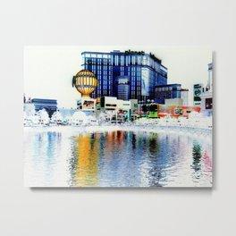 Polarized Metal Print