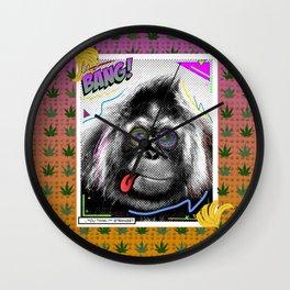 BANGIN' BANANAS Wall Clock