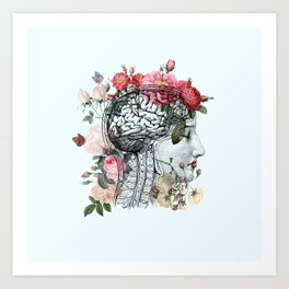 Beautiful Brain Art Print