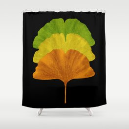Autumn Ginkgo Shower Curtain