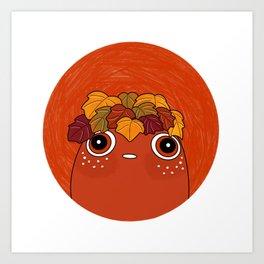 Garden Pal - Mega Caramel Heuchera Art Print