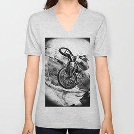 bikes  Unisex V-Neck