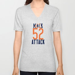 Khalil Mack 52 Bears Footbal Unisex V-Neck
