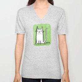 Nope Kitty Unisex V-Neck