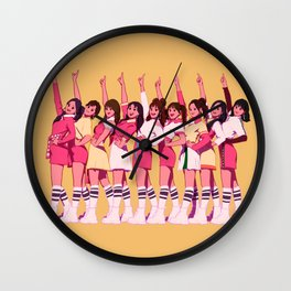 TWICE X NOML (Girls sting the top) Wall Clock