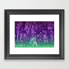 Yes, you can go wild now Framed Art Print