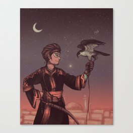 Ottoman Falconer Canvas Print