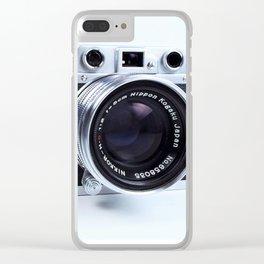 1950s Nicca Rangefinder Camera Clear iPhone Case
